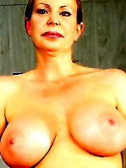 Huge boobied mom teasing an average dick