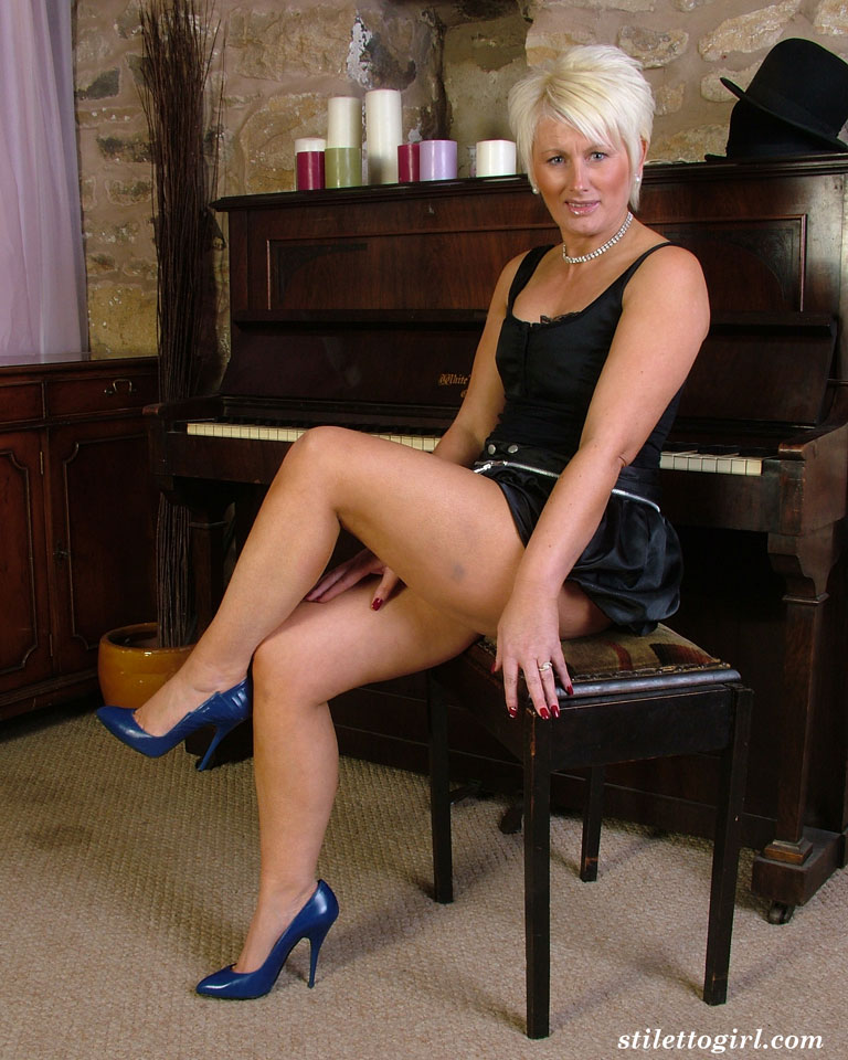Milf Anal Stockings High Heels