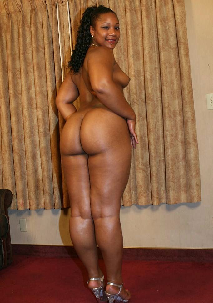 Ebony Big Ass Solo Anal