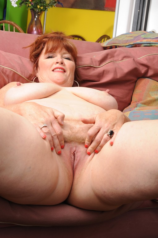 Fat Old Milfs - Chubby 50 year old MILF gets pounded in her fat ass!