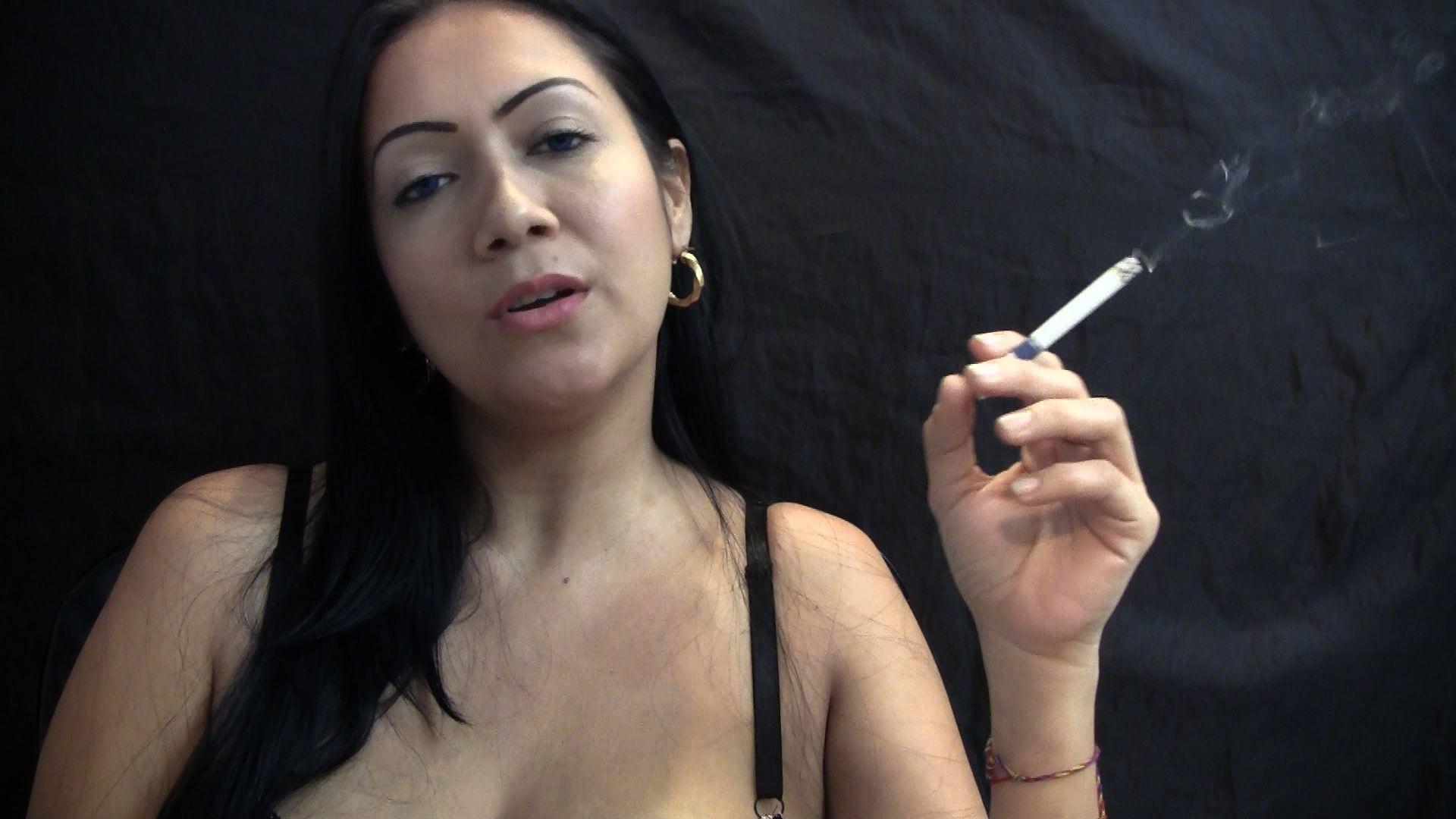 Step Mom Smoking Fetish