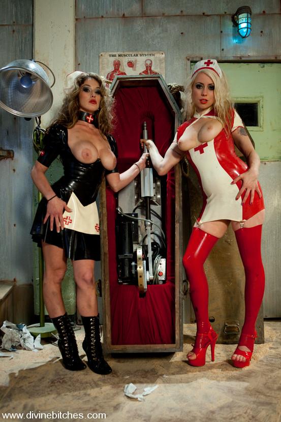 Lesbian Nurse Seduces Patient