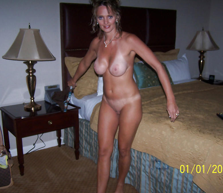 Real Amateur Blonde Milf