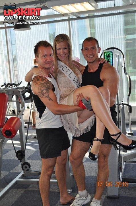 Fitness upskirt oops brilliant idea