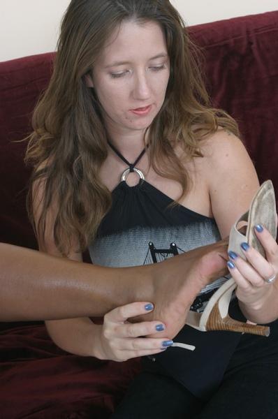 Teen Lesbian Feet Licking