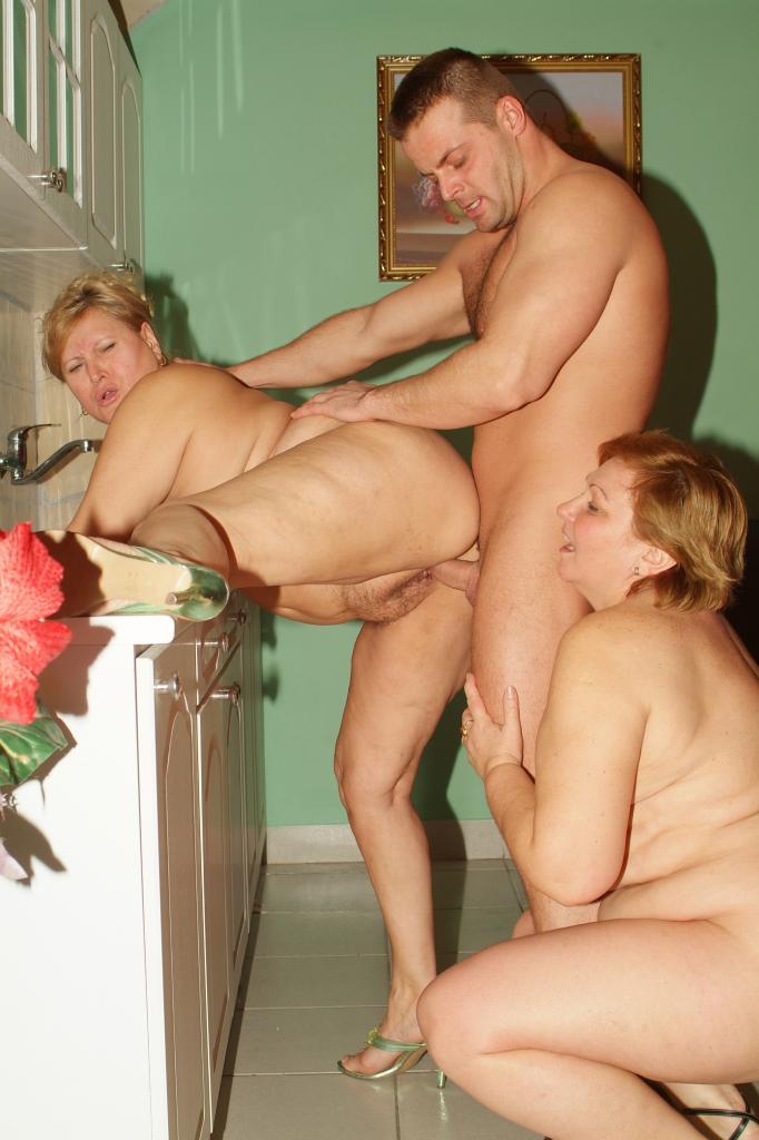 Bbw Mature Threesome Mmf