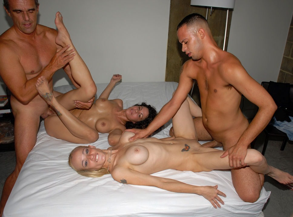 Homemade gay swingers