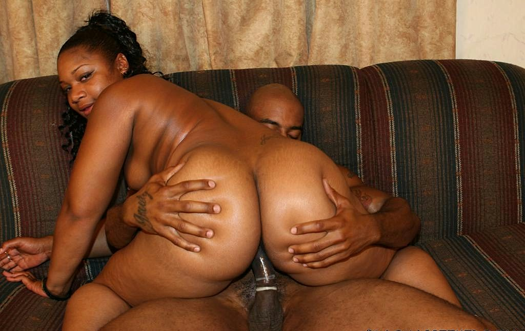 Ebony Takes Big Black Dick