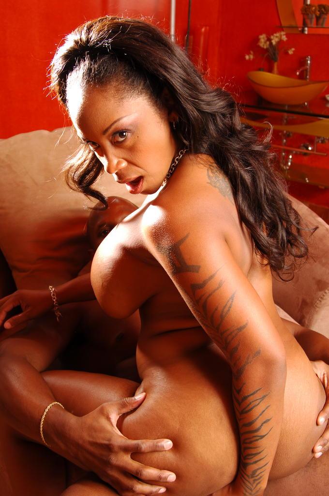 Sexy black porn star kitten think