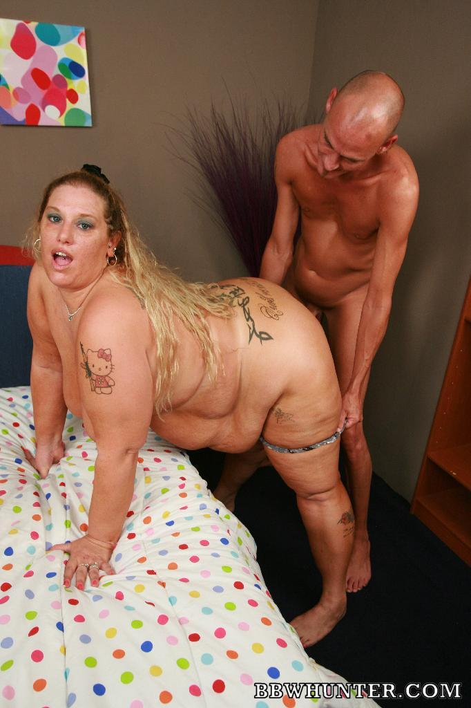 Chubby blondie Lilly West and her fuckbuddy go for hardcore fucking in this kinky  BBW porn story