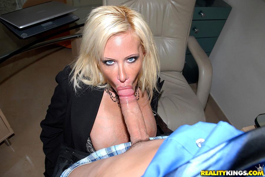 Big Ass Blonde Pornstar