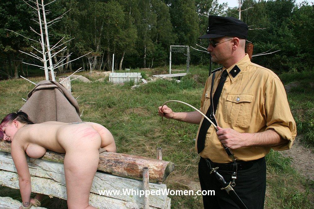 Naked whip outside sex photo