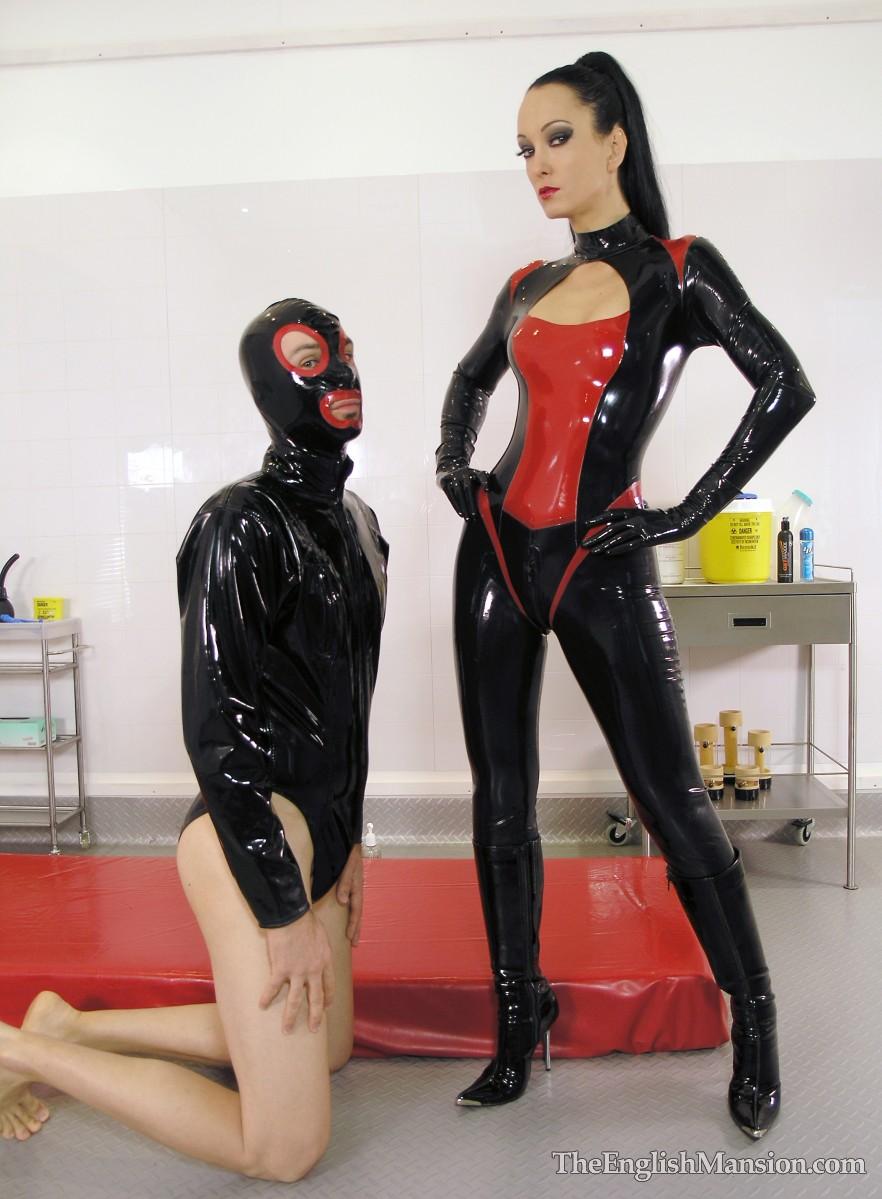 Sex slave latex Latex: 1,200