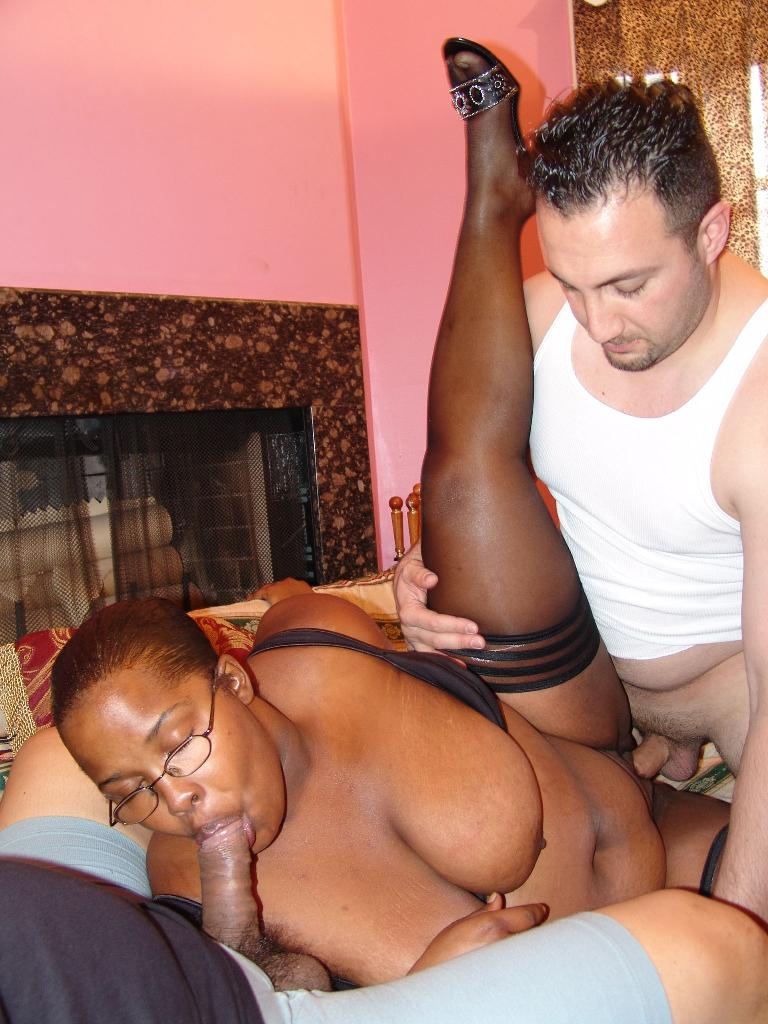Asian Black Girl Threesome