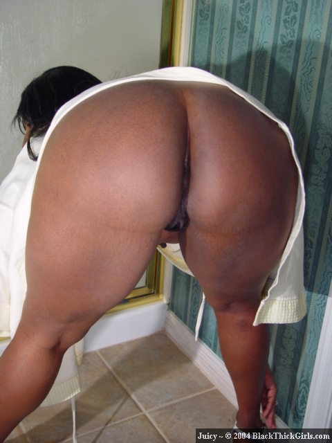 Black Thick Girl Twerking