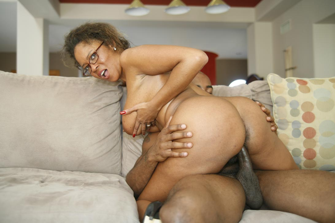 Big Ass Ebony Rough Anal