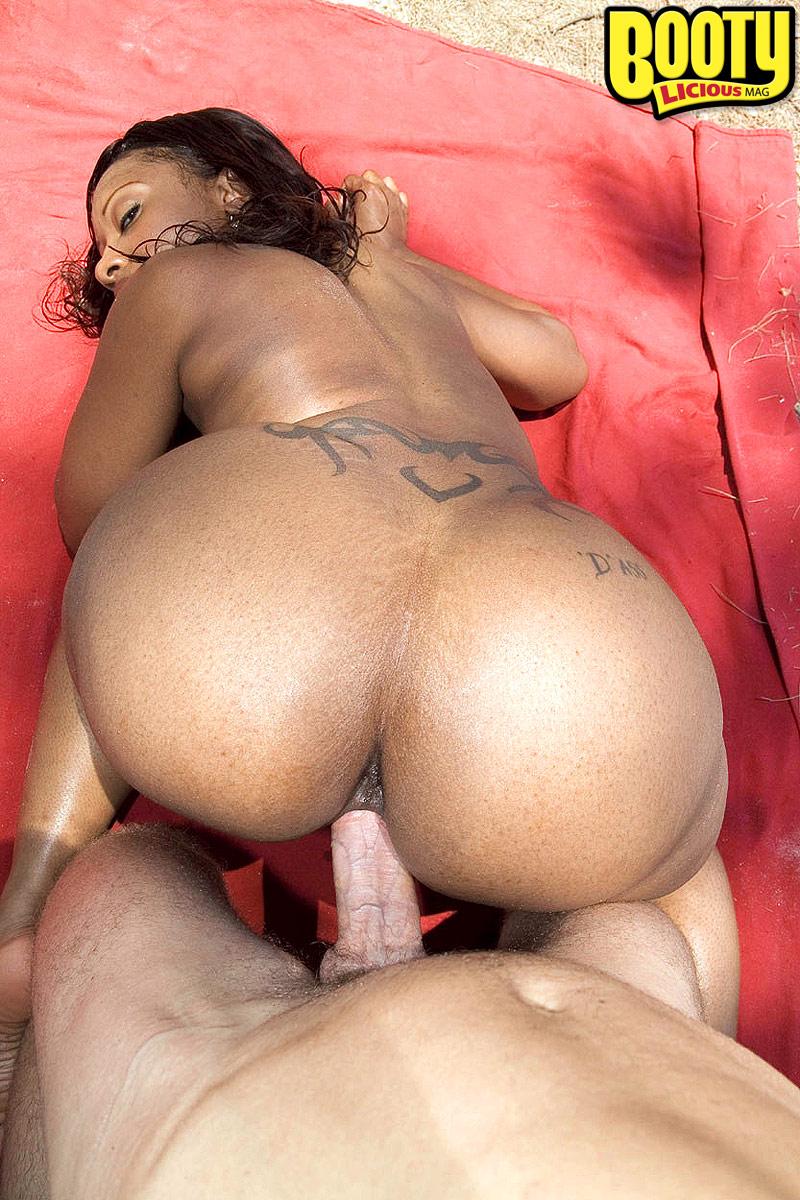 Big Ass Ebony Getting Fuck
