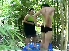 Hmong Thai xxx indn hd cakc in the Forest