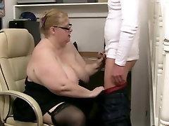 BBW Granny Fucks Jos Underling