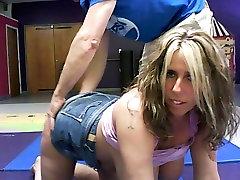 Big tit monster clit tribbing BBW fucked on cam