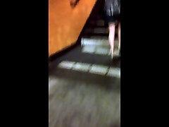 Candid short skirt
