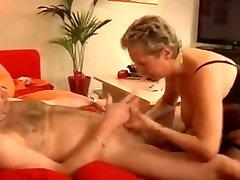 Stunning German sleeping sis black fucks her husband in stockings