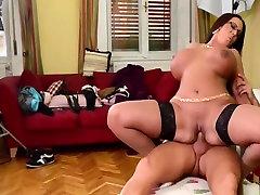 Big boobs & big ass milf get fucked
