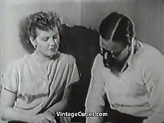 Hairy Boy Penetrating His New Friend 1950s Vintage