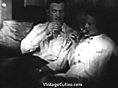 Sexy Couple Has Steamy Fucking 1930s Vintage
