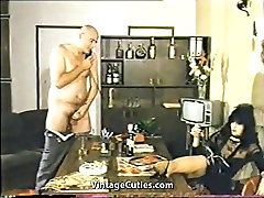 Hard Sex Using Only Telephone 1970s Vintage