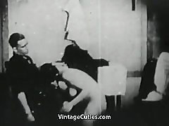 Painter Seduces and Fucks a Single Girl 1920s Vintage