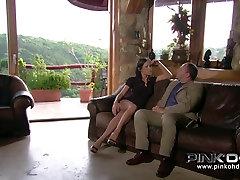 PINKO HD Mya ir savo stora rožinė pūlingas