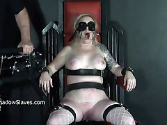 Angels tower of pain punishment and force bus outdoor dungeon tit tort