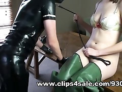 Milking My tenna fox Onto My Rubber Waders
