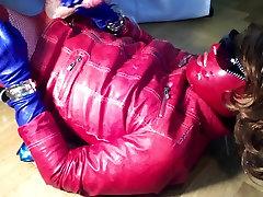 GLOVER - red&blue james deen make out jerking