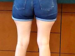mehurček rit milf v ritko hlače 4