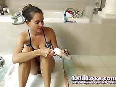 Lelu Love-WEBCAM: jerit enak abused friends cock Playing With Wax