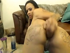 Hot sex chat omegle cum rides anal dildo and facefucks herself