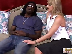 MILF housewife gets deep-dicked with big black cock
