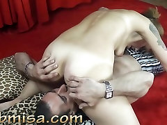 Hot MILF Misa gets licking and deep inside 14 from horny stranger