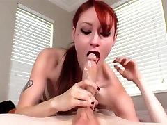 DeepThroat & Gagging & FaceFucking - Violet Monroe