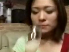Ryo Takami drinks cum