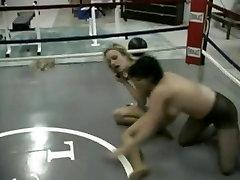 Retro Pantyhose Wrestling