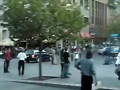 Flashin in public