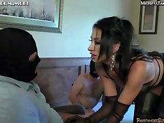 Femdom bisex withs strapon tease zareena khan hot porn denial cum eating