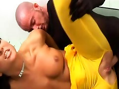 crazy anal sex in spandex catsuits