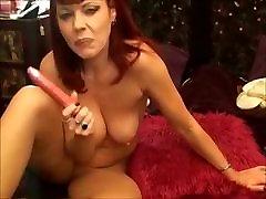 Hot sophie dee ride cream pie Redhead- Rubee