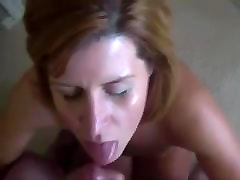 Blonde sani liyon solo sex Sucks Hookup Guy And Gets Facialized