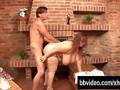 Busty bbw german whore eat dick