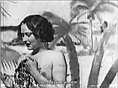 Beautiful jalina bangkok gets Fucked at the Beach 1930s Vintage